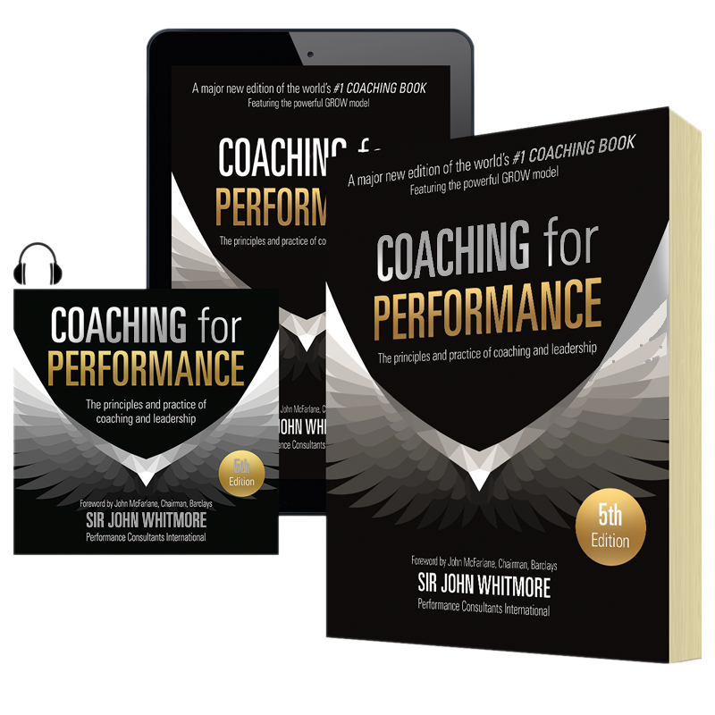 Coaching for performance 5th edition John Whitmore paperback audio ebook digital